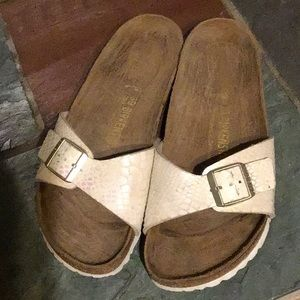Birkenstock's Madrid Birko-Flor Sandals Size 39/8